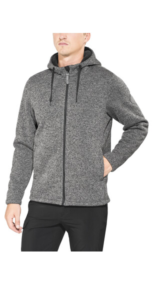 Elkline Garage Fleece Jacket Men grey - black